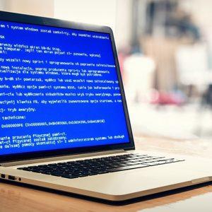 10 najczęstszych usterek laptopów